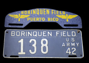 1942 License Plate