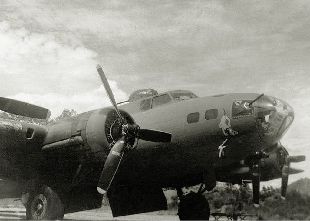 BRIDADIER GENERAL RAMEY B-17 AT PORT MORESBY 1943. BORINQUEN FIELD – RAMEY AIR FORCE BASE HISTORY