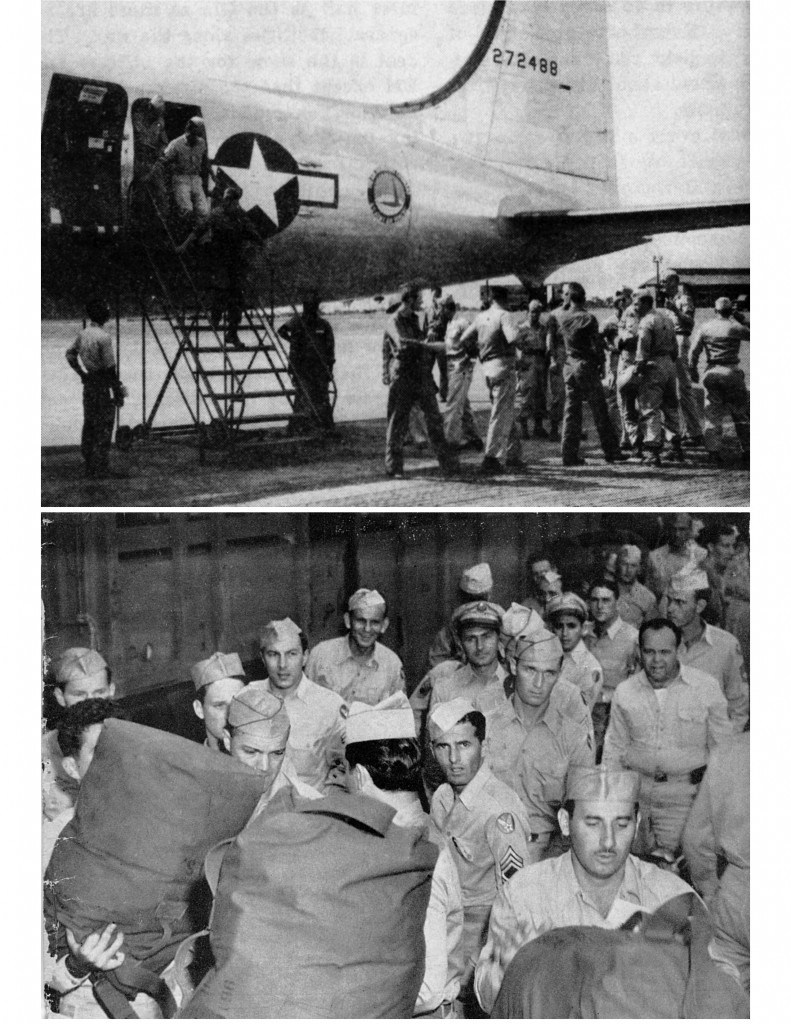 OPERATION GREEN TRANSIENTS AT BORINQUEN FIELD 1945