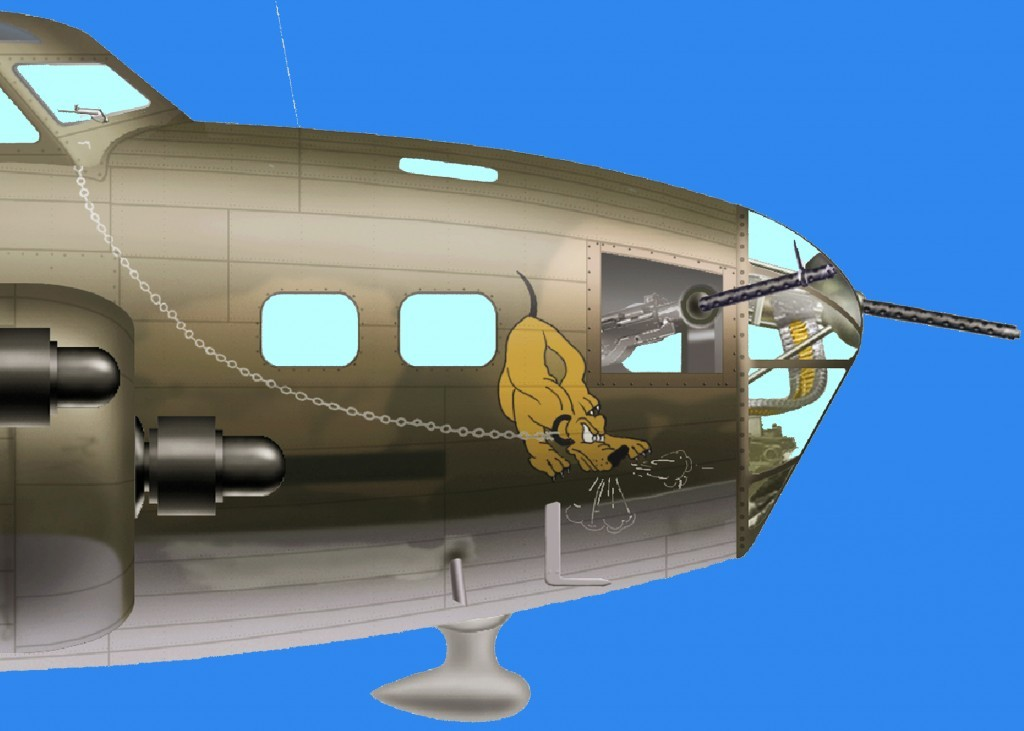 "B-17F-1-BO 41-24384 ""PLUTO"". BORINQUEN FIELD – RAMEY AIR FORCE BASE HISTORY"