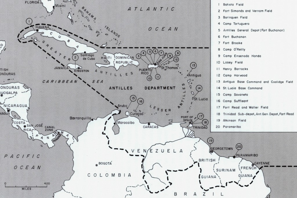 ANTILLES COMMAND IN THE CARIBBEAN 1942. BORINQUEN FIELD – RAMEY AIR FORCE BASE HISTORY