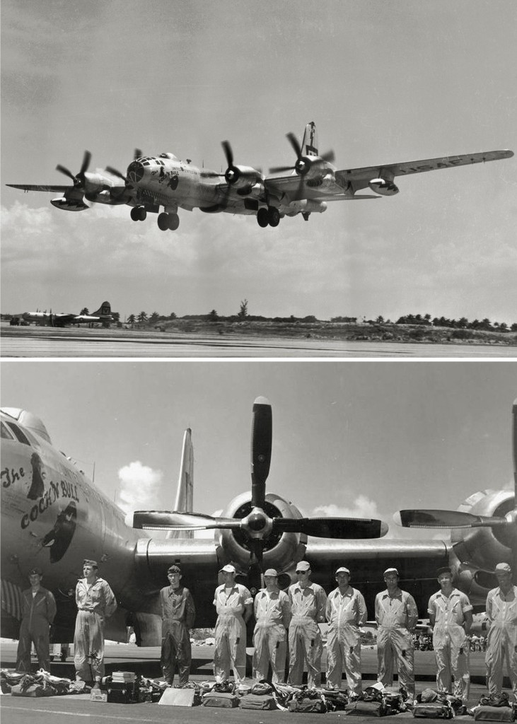 RB-50 47-0162 RAMEY AIR FORCE BASE 1952