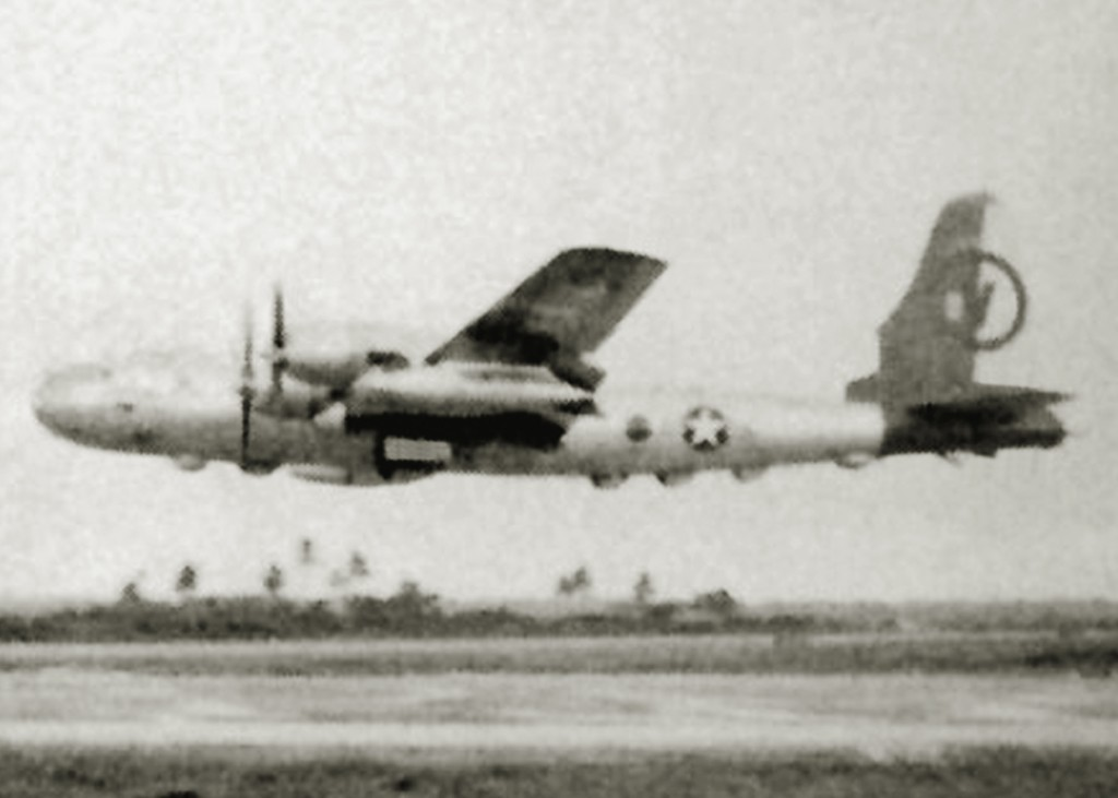 RB-50 AT RAMEY AIR FORCE BASE 1953