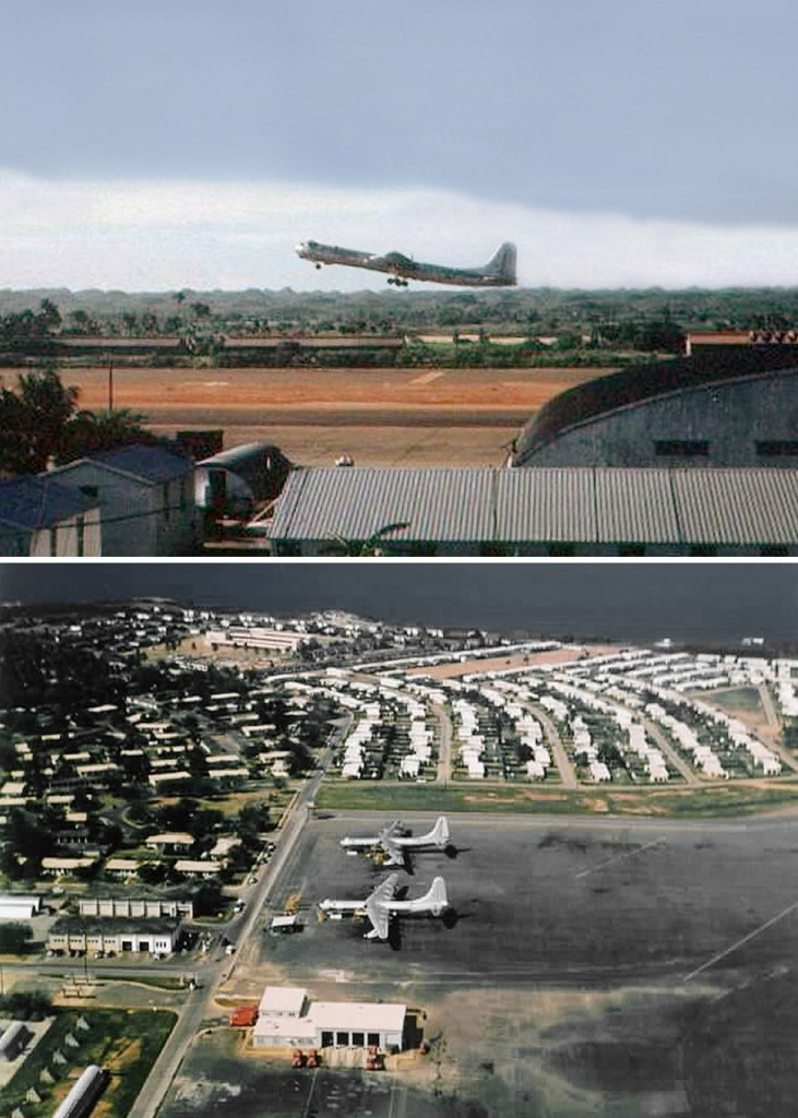 IMAGES OF B-36 AT RAMEY AIR FORCE BASE 1955