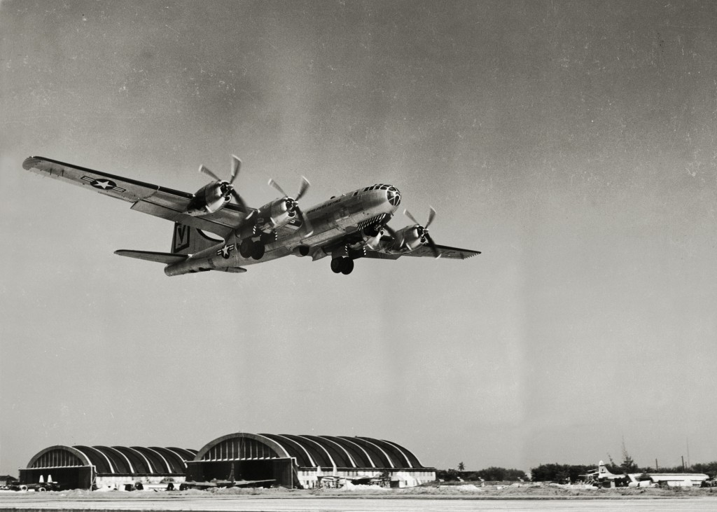 KB-29 AT RAMEY AIR FORCE BASE 1949