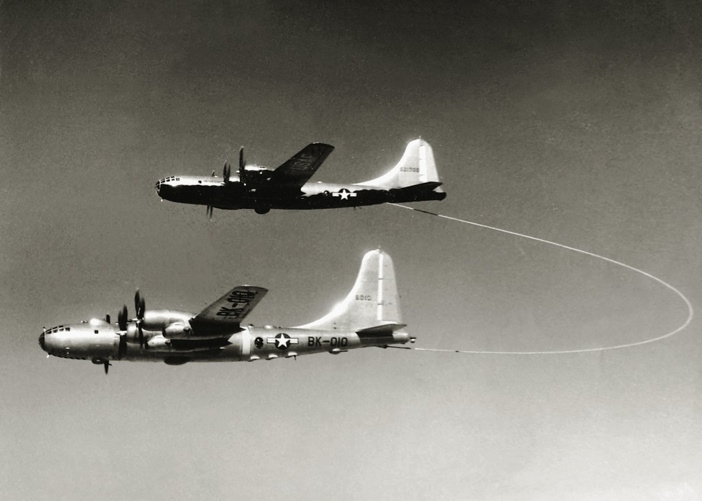 KB-29 REFUELING RB-50 BORINQUEN FIELD – RAMEY AIR FORCE BASE HISTORY