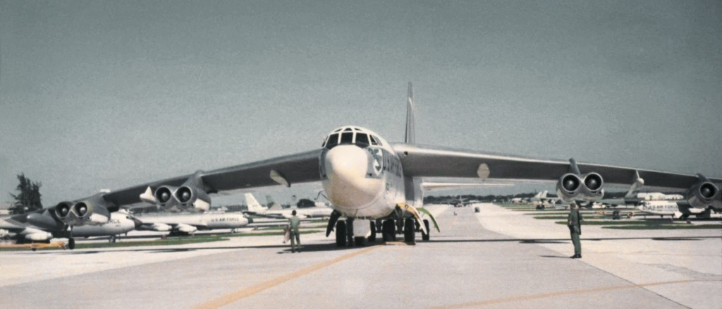 B-52 ALERT BIRD AT RAMEY AIR FORCE BASE 1969