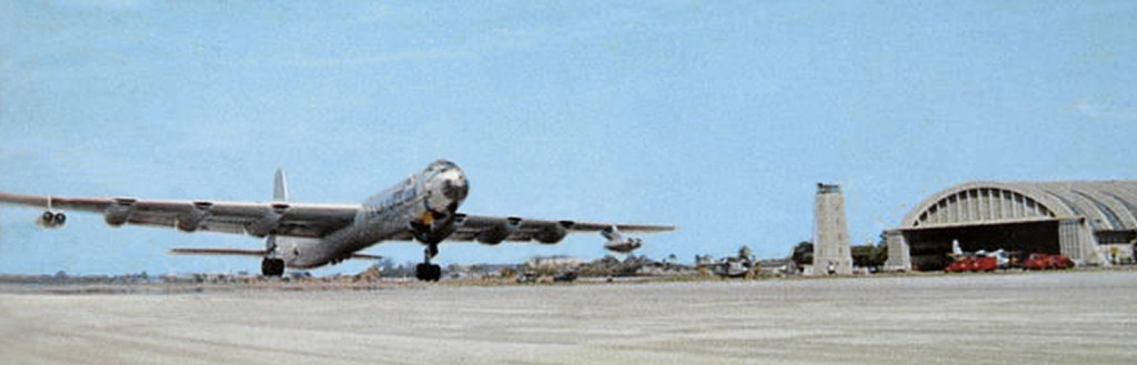 RB-36 TAKING OFF AT RAMEY AIR FORCE BASE (CA. 1957 – 1958)