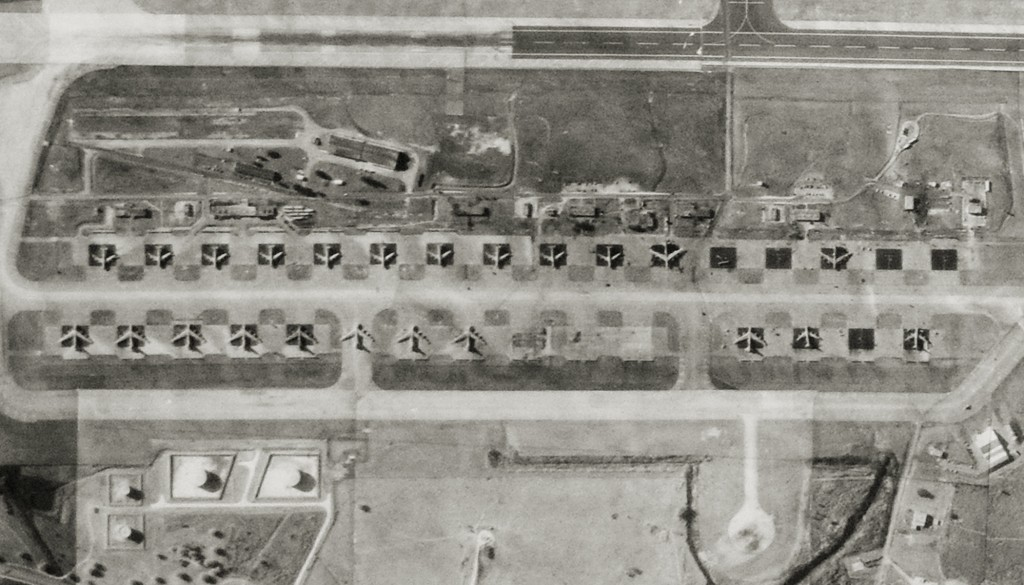 B-52 KC-135 AT ALERT AREA OF RAMEY AIR FORCE BASE 1969