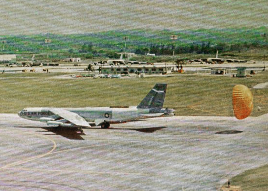 B-52 AT RAMEY AIR FORCE BASE 1969