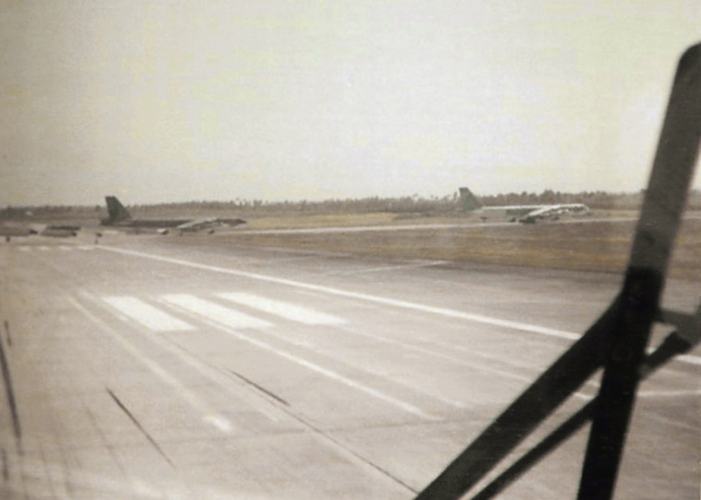 B-52 AT RAMEY AIR FORCE BASE RUNWAY 1969