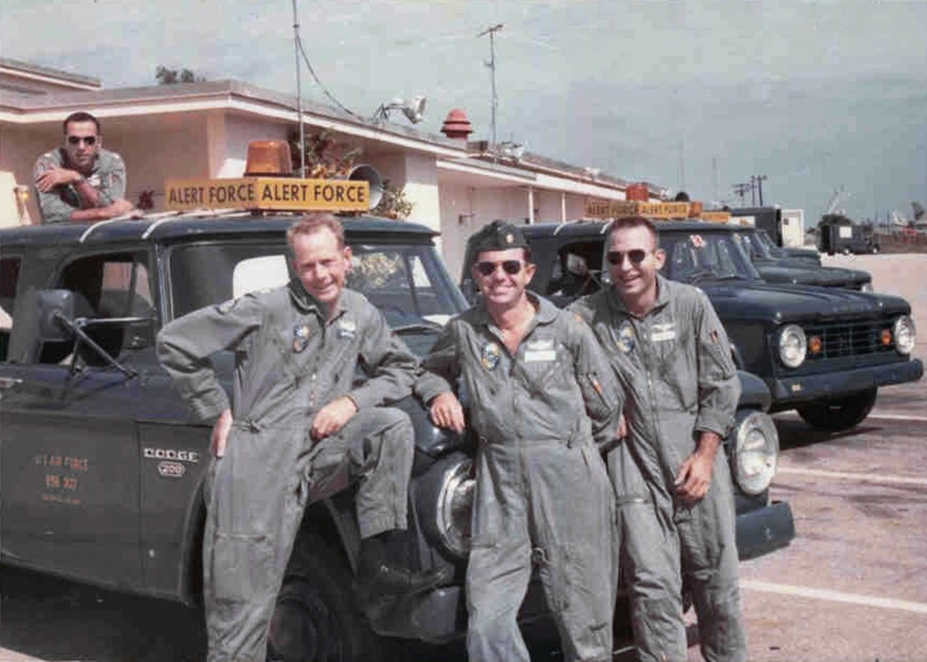 B-52 CREW AT RAMEY AIR FORCE BASE 1969