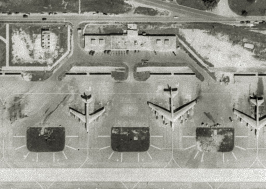 ALERT BUILDING FACILITY'S AT RAMEY AIR FORCE BASE 1970
