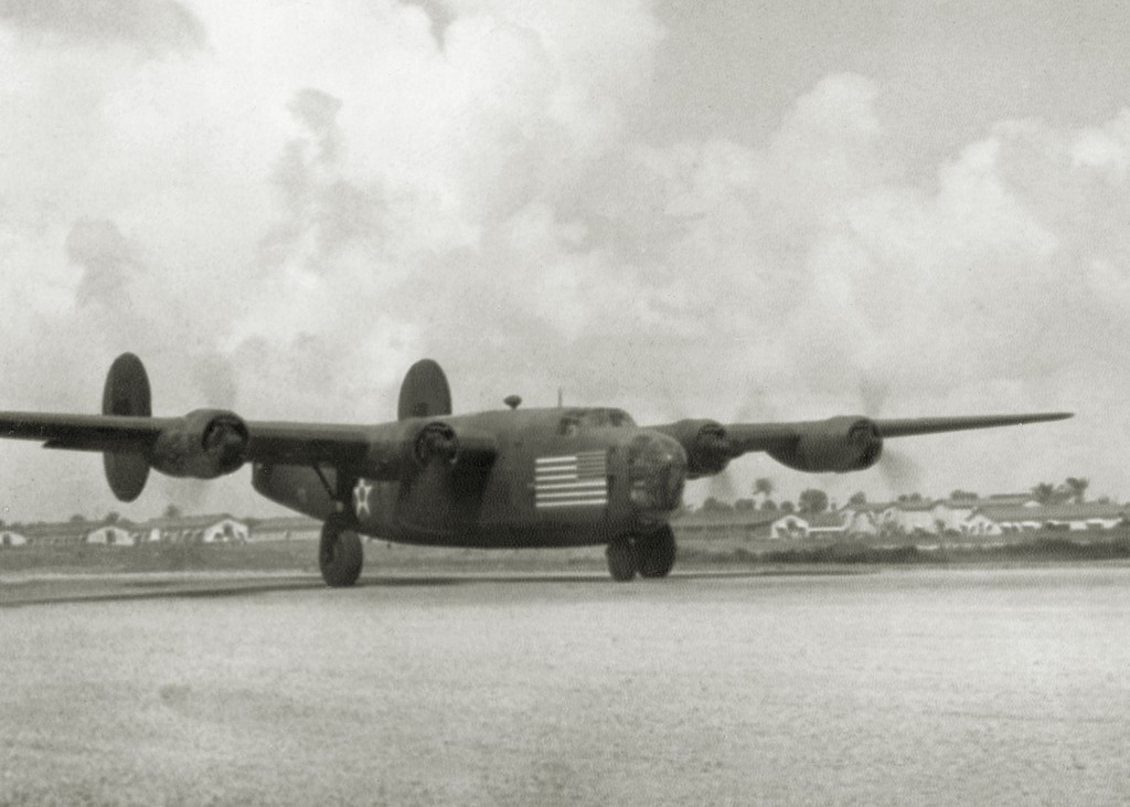 C-87 arriving at Borinquen Field Puerto Rico 1941