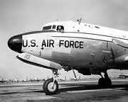 The C-54 Skymaster aircraft, nicknamed the Sacred Cow